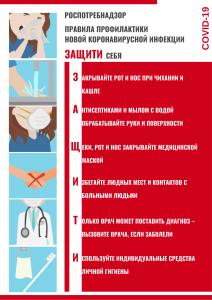 плакат коронавирус верт